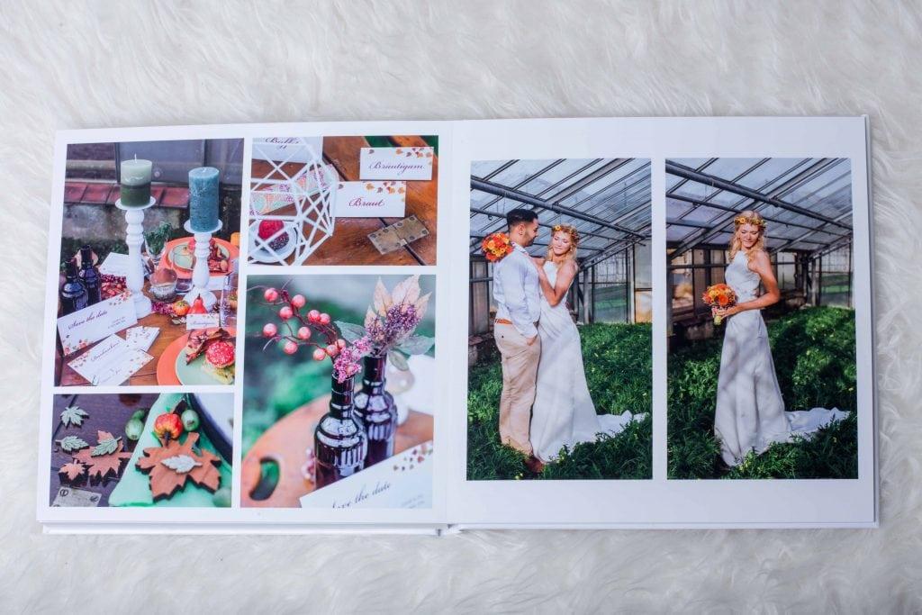 """ALT=""""Fotoalbum Hochzeitsalbum Hochzeitsreportage Fotobuch Hochzeitsbuch"""""""
