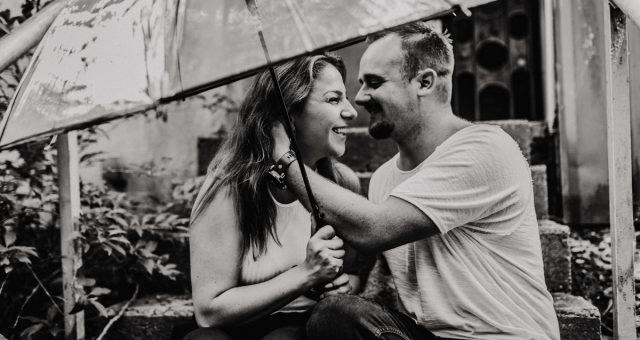Sonja und Kevin Engagement Shooting in Hamburg