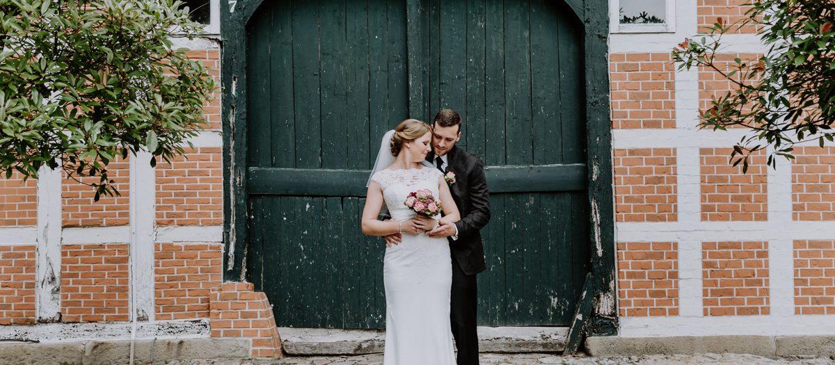 Melanie und Ben Hochzeitsfeier im Hof Oelkers in Wenzendorf