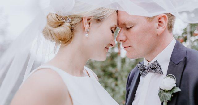 Anna und Martin Hochzeitsreportage in Großwörden bei Stade