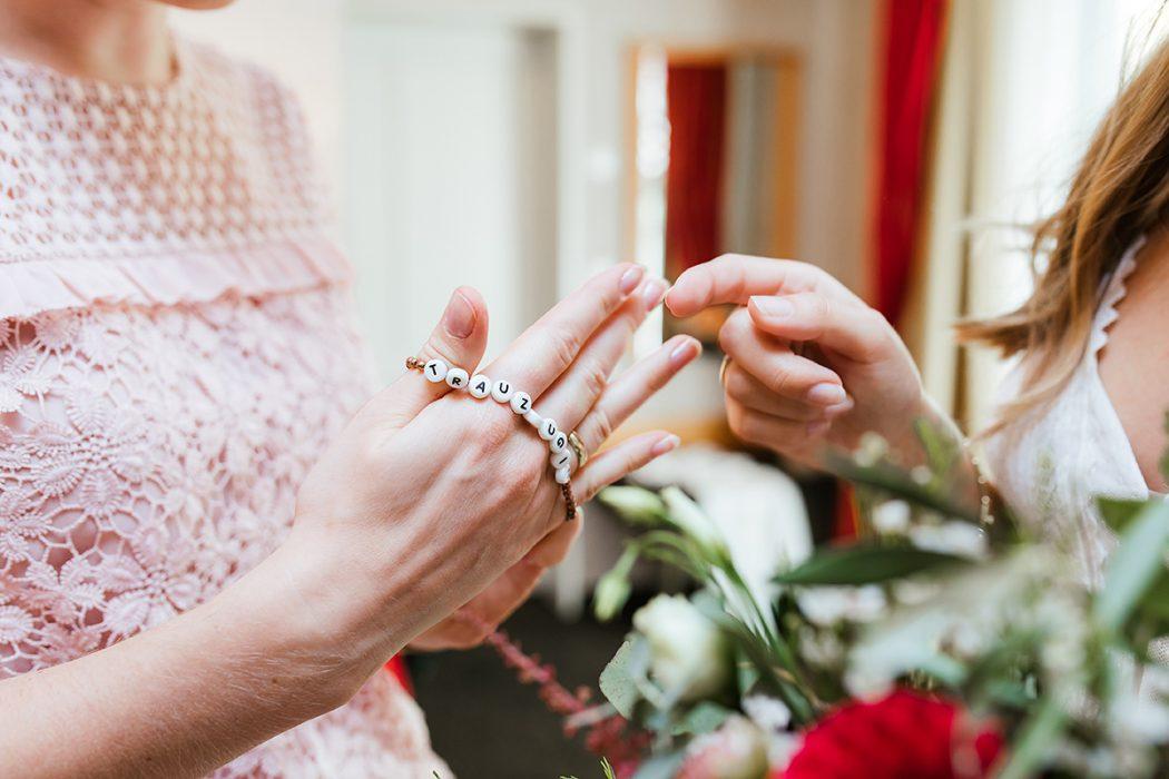 Trauzeuginnengeschenk Hochzeitsfotografie