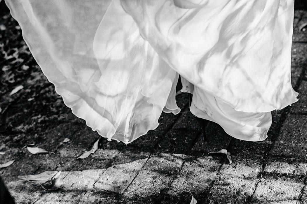 Hochzeitsfotografie Brautkleid Hamburg