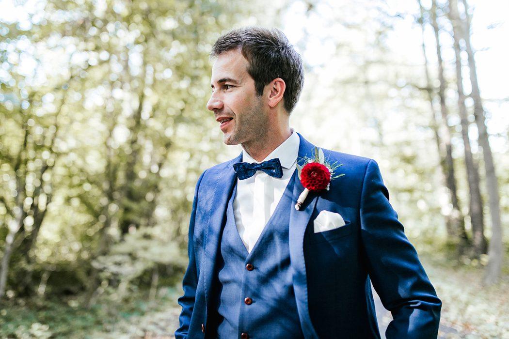 Hochzeitsfotografin Bräutigam