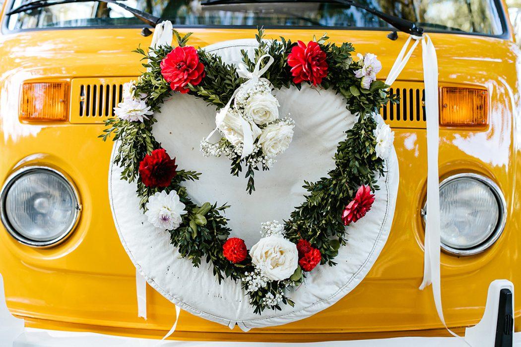 Blumenherz Hochzeitsfotografie