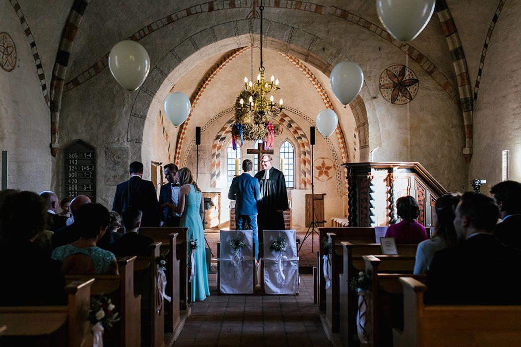 Kirchliche Trauung Sylt