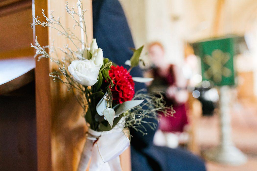 Kirchliche Trauung Blumen