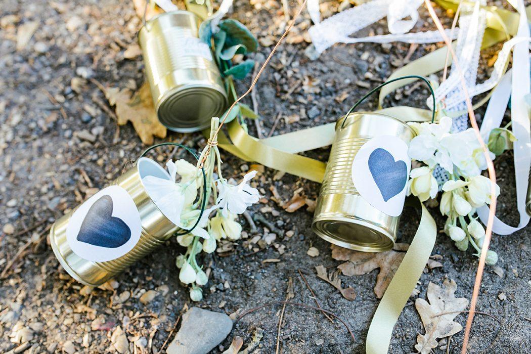 Dosen Hochzeitsbild