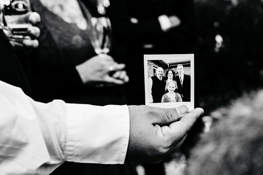 Polaroid Hochzeitsgesellschaft