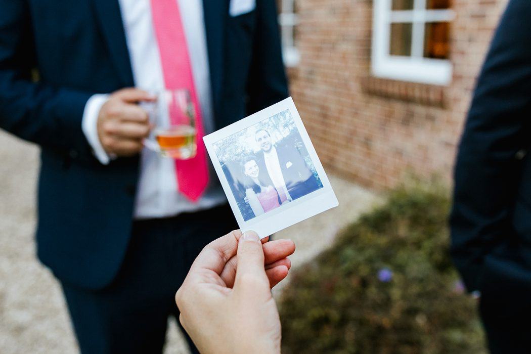 Polaroid Hochzeitstag